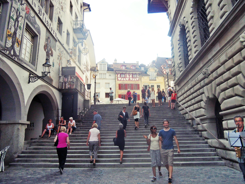 Pedestrian di Luzern