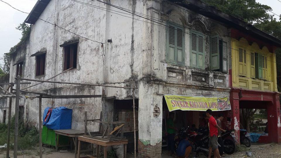 Di pojokan pasar di Sumut