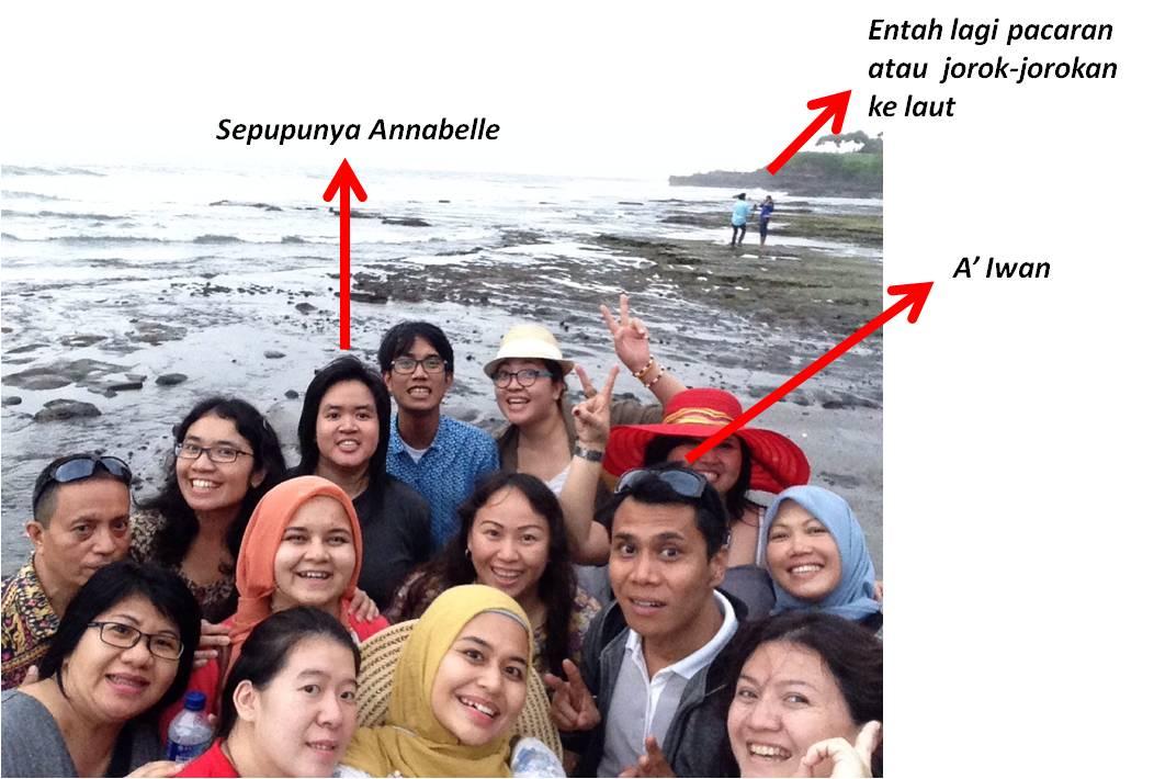 Bersama A'Iwan di Bali