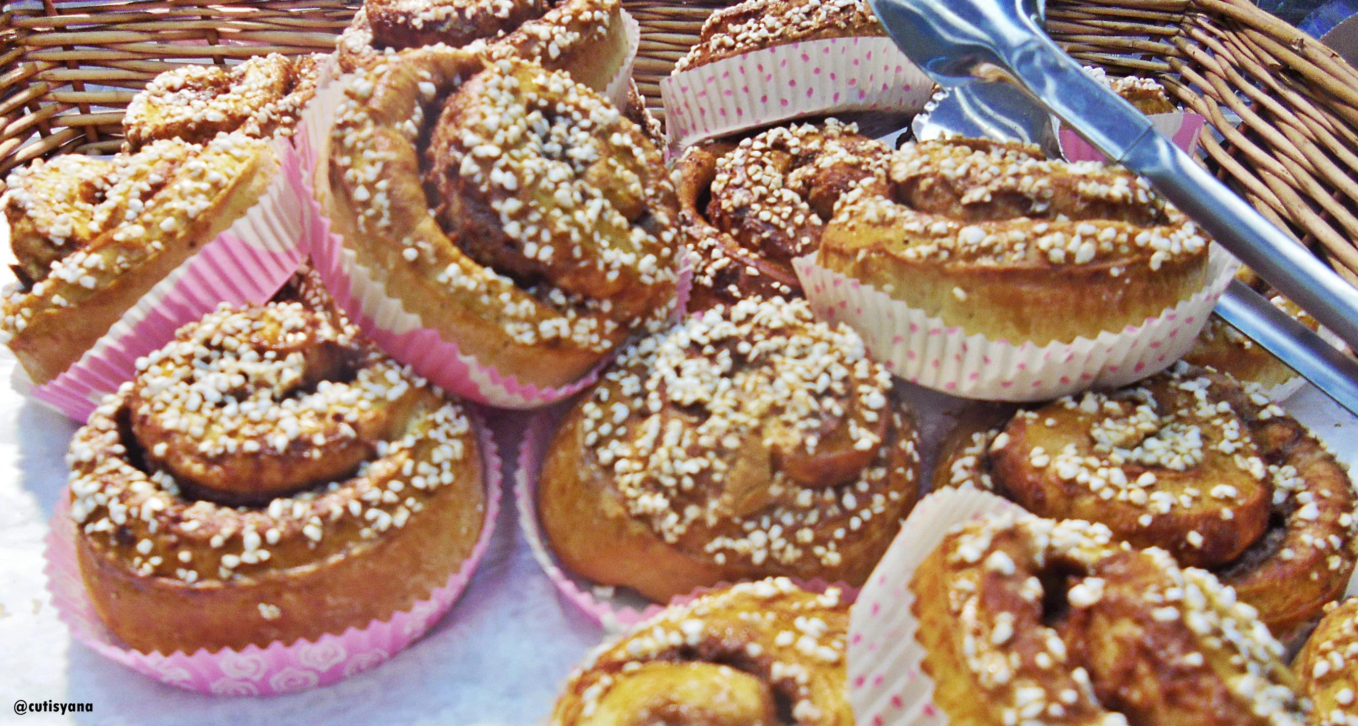 Di IKEA cuma mampu beli Kanelbulle, kue khas Swedia