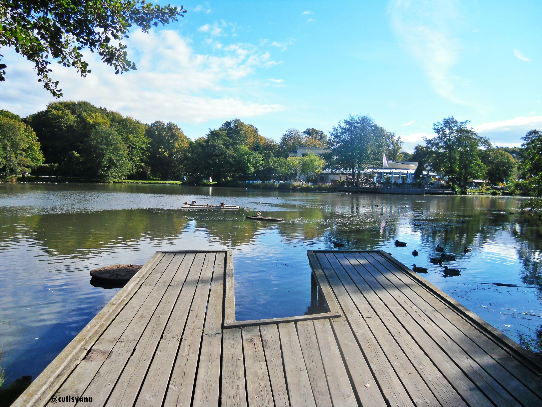 Danau di dalam taman